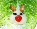 Easter Bunny Salad for Kids
