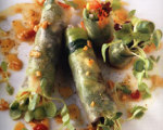 Raw Foods Cucumber Summer Rolls