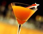 Mandarin Vodka Martini