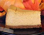 Elegant Pumpkin Cheesecake