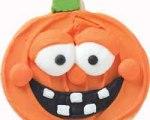 Happy Pumpkin Cookies for Halloween