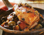 Moroccan Chicken with Dried Fruit and Olives