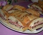 New Orleans Style Muffuletta Sandwiches