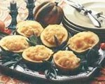 Potato and Parsnips in Acorn Squash Bowls