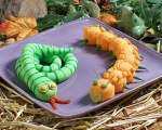 Mashed Potato Snakes-- Halloween Recipes