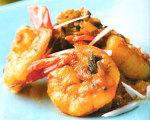 Prawns in Coconut Masala