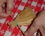 Vegtable and Cheese Corundas-Tamales