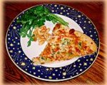 Thai Style Chicken, Shrimp or Vegetable Pizza