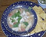 Southwestern Style Chicken Lime Soup