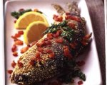 Pan-Fried Trout with Bacon