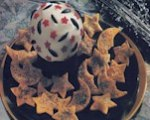 Wizard's crystal cheese ball with celestial chips