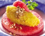 Squash Puree with Watermelon and Cinnamon