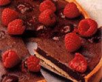 Pierrew Herme's Warm Chocolate Raspberry Tart