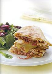 Turkey and Balsamic Onion Quesadillas