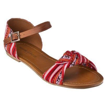 Wilton Flat Sandal w/ Ankle Strap