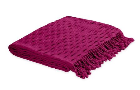 Radiant Orchid throw blanket
