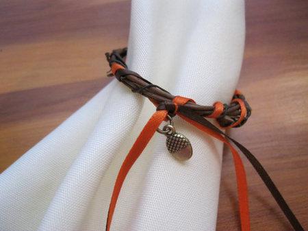 Fall napkin ring