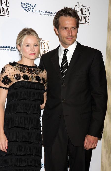 Kristen Bell and Michael Vartan