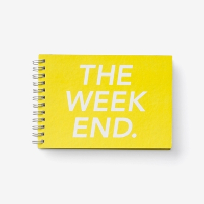 The weekend calendar