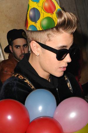 A very Bieber birthday