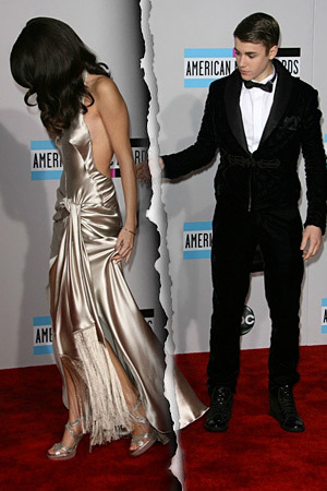 Justin and Selena split