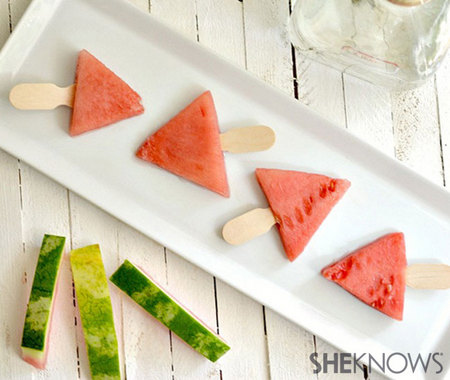 Boozy popsicles