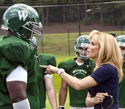 "Best motion picture of the year nominee ""The Blind Side"""