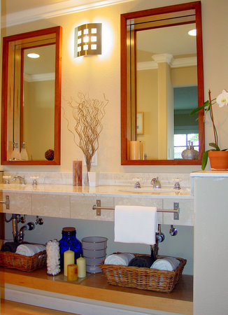 Bathroom decorating ideas spa style bathroom