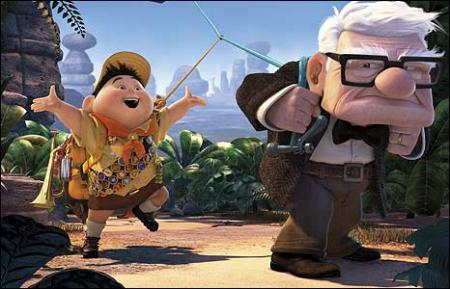 "Best motion picture of the year nominee ""Up"""