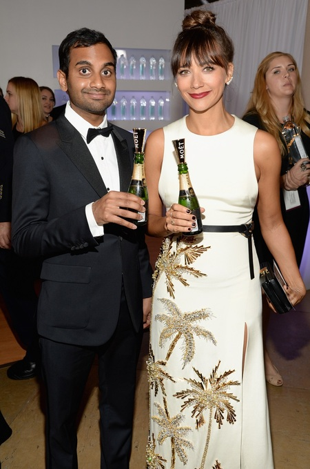 Rashida Jones & Aziz Ansari