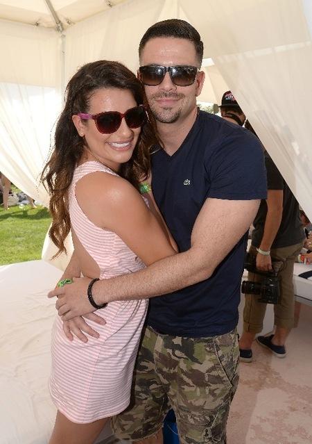 Lea Michele & Mark Salling