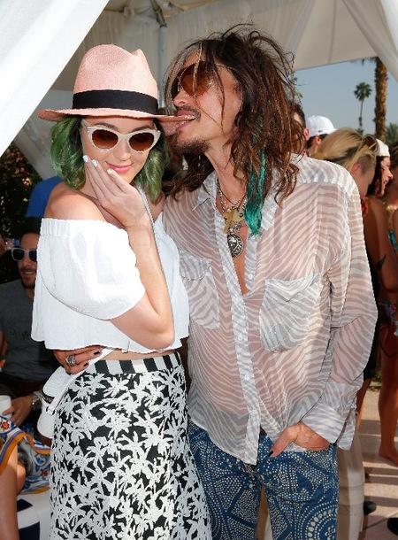 Katy Perry & Steven Tyler