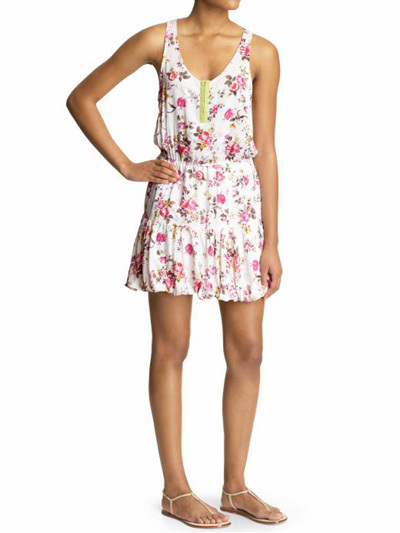 Lucca Couture floral print dress