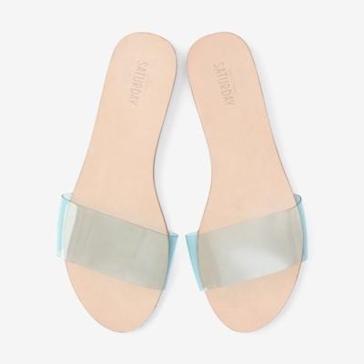 Slip-on slides