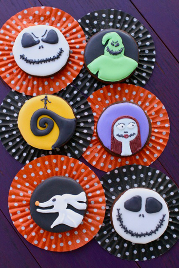 <i>Nightmare Before Christmas cookies</i>
