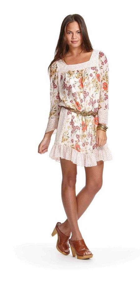 Jovovich-Hawk floral dress