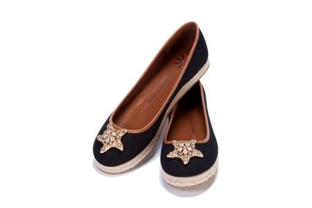 Star Flat Espadrille with Starfish Ornament