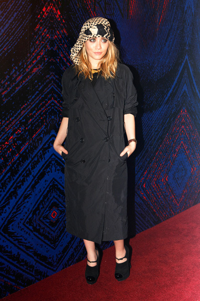 Ashley Olsen at a YSL Event