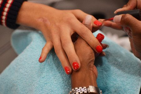 Jason Wu models wore Monsooner or Later by OPI on their nails during the Mercedes-Benz New York Fashion Week SS12.