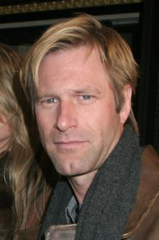 "Aaron Eckhart at Opening for ""A Moon for the Misbegotten"""