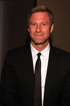 "Aaron Eckhart  at the ""Fun Fearless Males of 2009"" Awards"