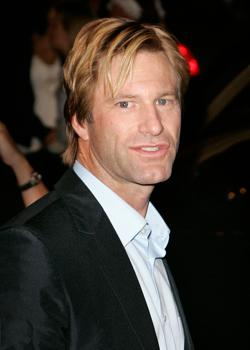 "Aaron Eckhart at Premiere of ""No Reservations"""