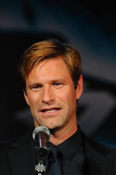 "Aaron Eckhart at ""The Dark Knight"" Premiere in Tokyo"