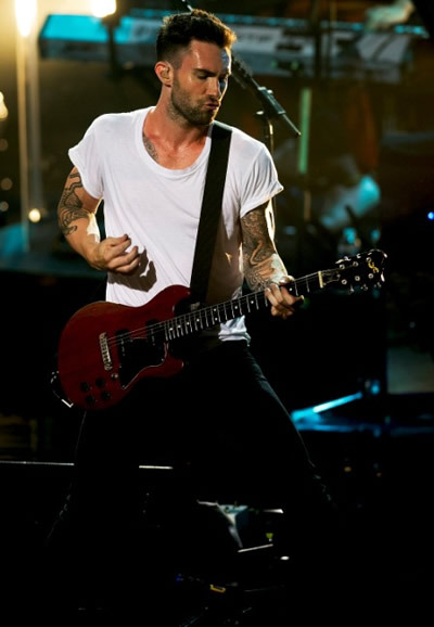 Adam Levine at Beacon Theatre