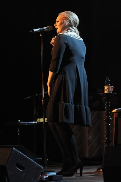 Adele&#039;s stage style