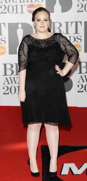 Adele in lace