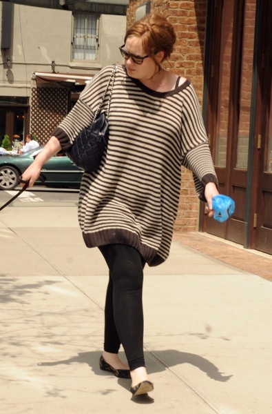 Adele in a sweater
