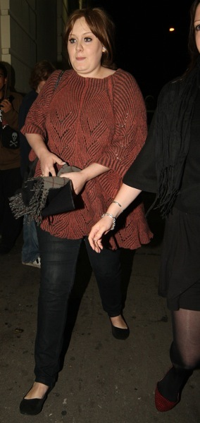 Adele in a tunic