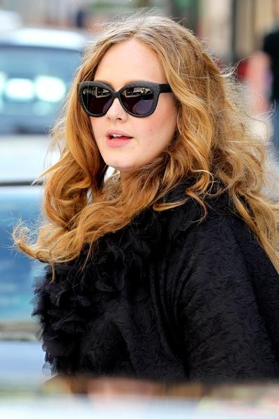 Adele in curls