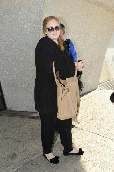 Adele's airprot style